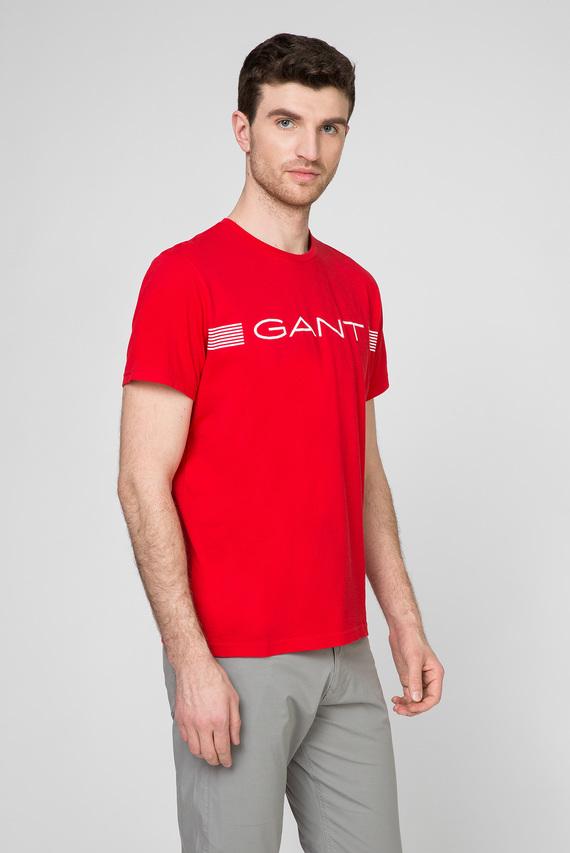 Мужская красная футболка STRIPE
