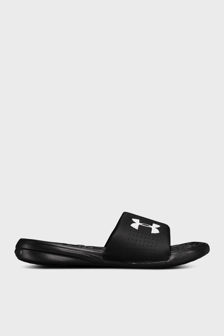 Мужские черные сандалии UA Playmaker Fix
