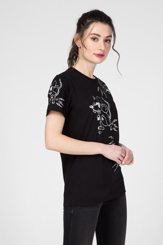 Черная футболка CL-T-DIEGO-3