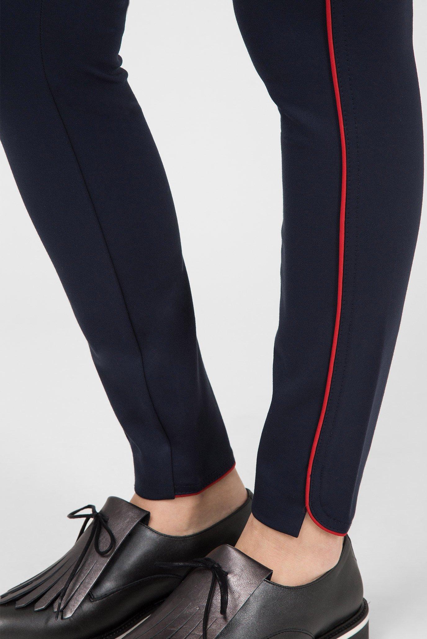 Купить Женские темно-синие брюки Tommy Hilfiger Tommy Hilfiger WW0WW22209 – Киев, Украина. Цены в интернет магазине MD Fashion
