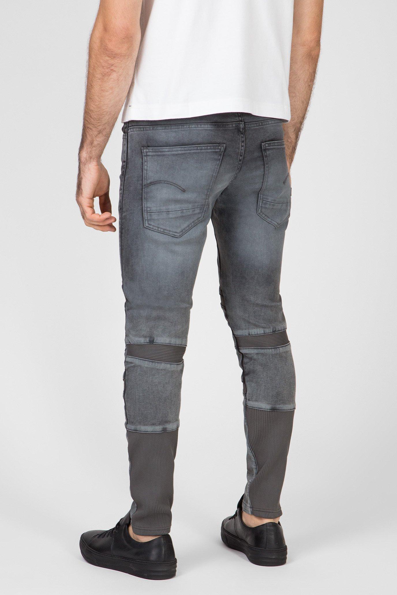 Мужские серые джинсы Motac 3D Slim G-Star RAW