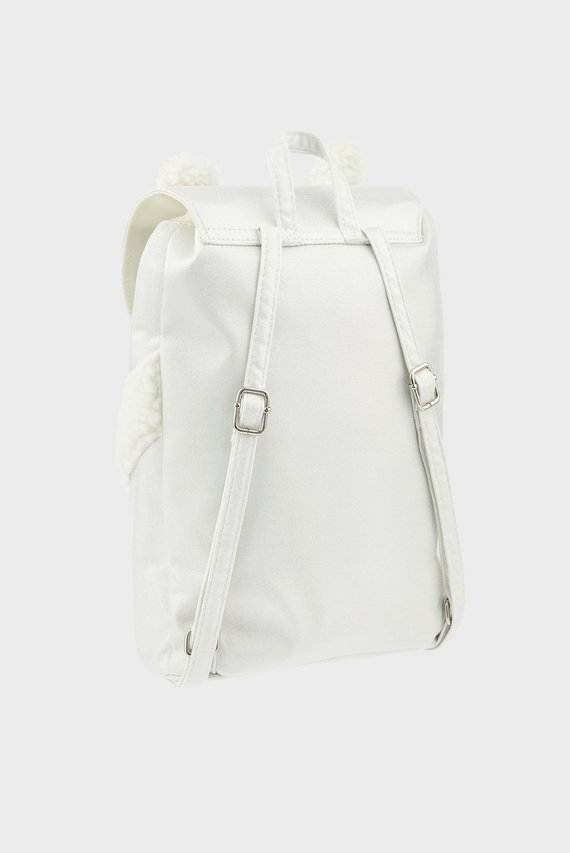 Детский белый рюкзак POLAR BEAR BACKPACK