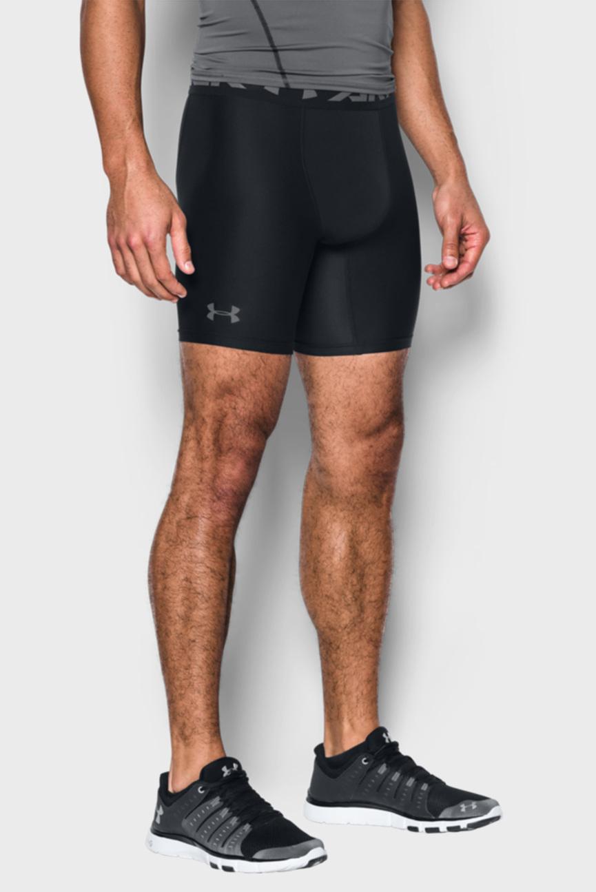 Мужские черные шорты HG ARMOUR 2.0 COMP SHORT
