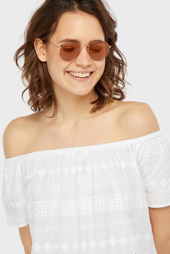 Женские розовые очки