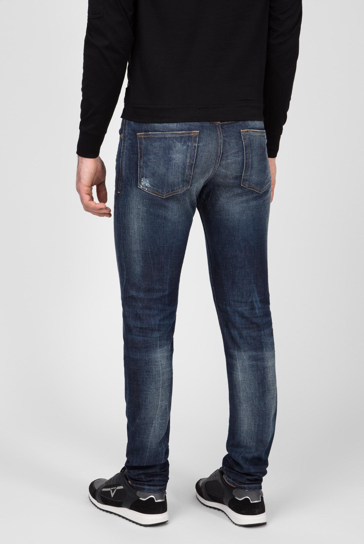Купить Мужские синие джинсы D-STRUKT Diesel Diesel 00SPW5 089AL – Киев, Украина. Цены в интернет магазине MD Fashion