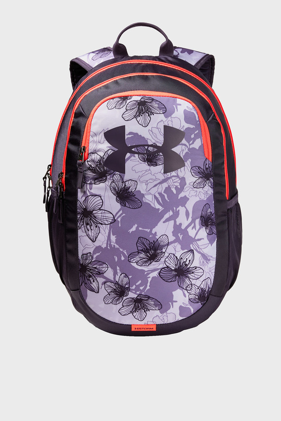 Женский фиолетовый рюкзак с принтом UA Scrimmage 2.0