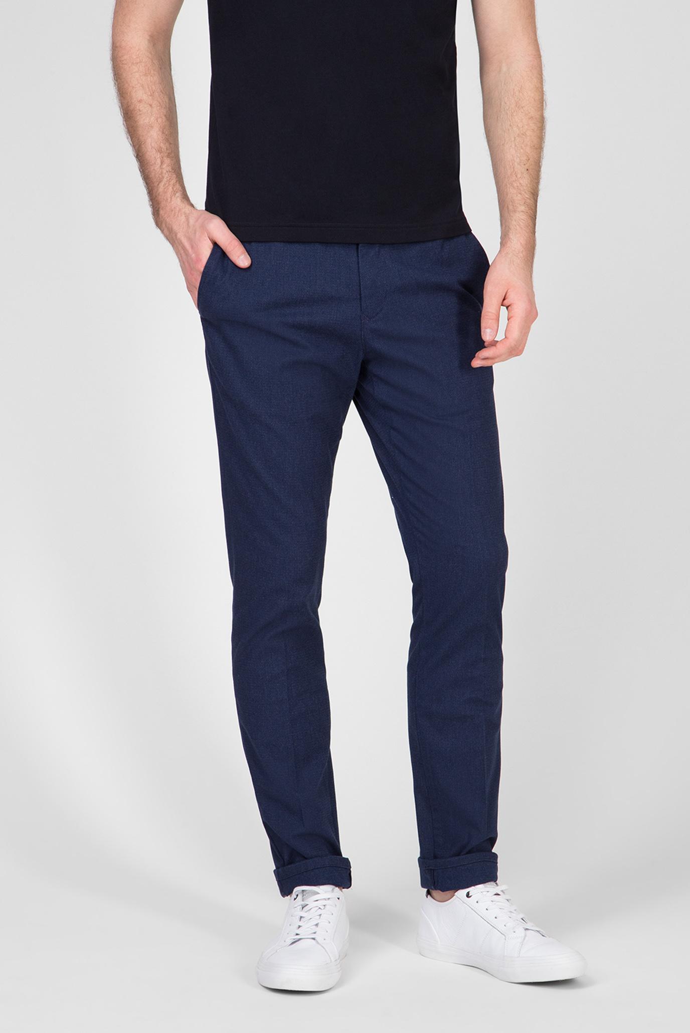 Мужские синие брюки ACTIVE TH FLEX STRETCH MELANGE 1