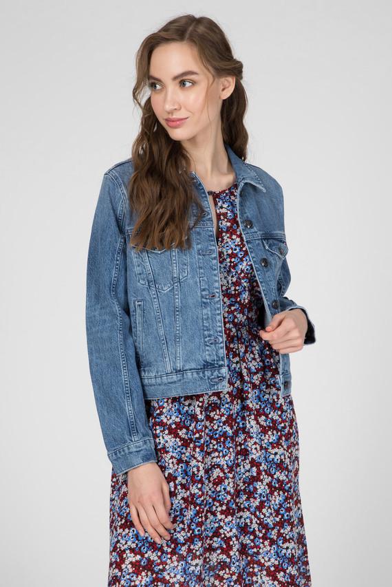 Женская голубая джинсовая куртка JACKET MILO