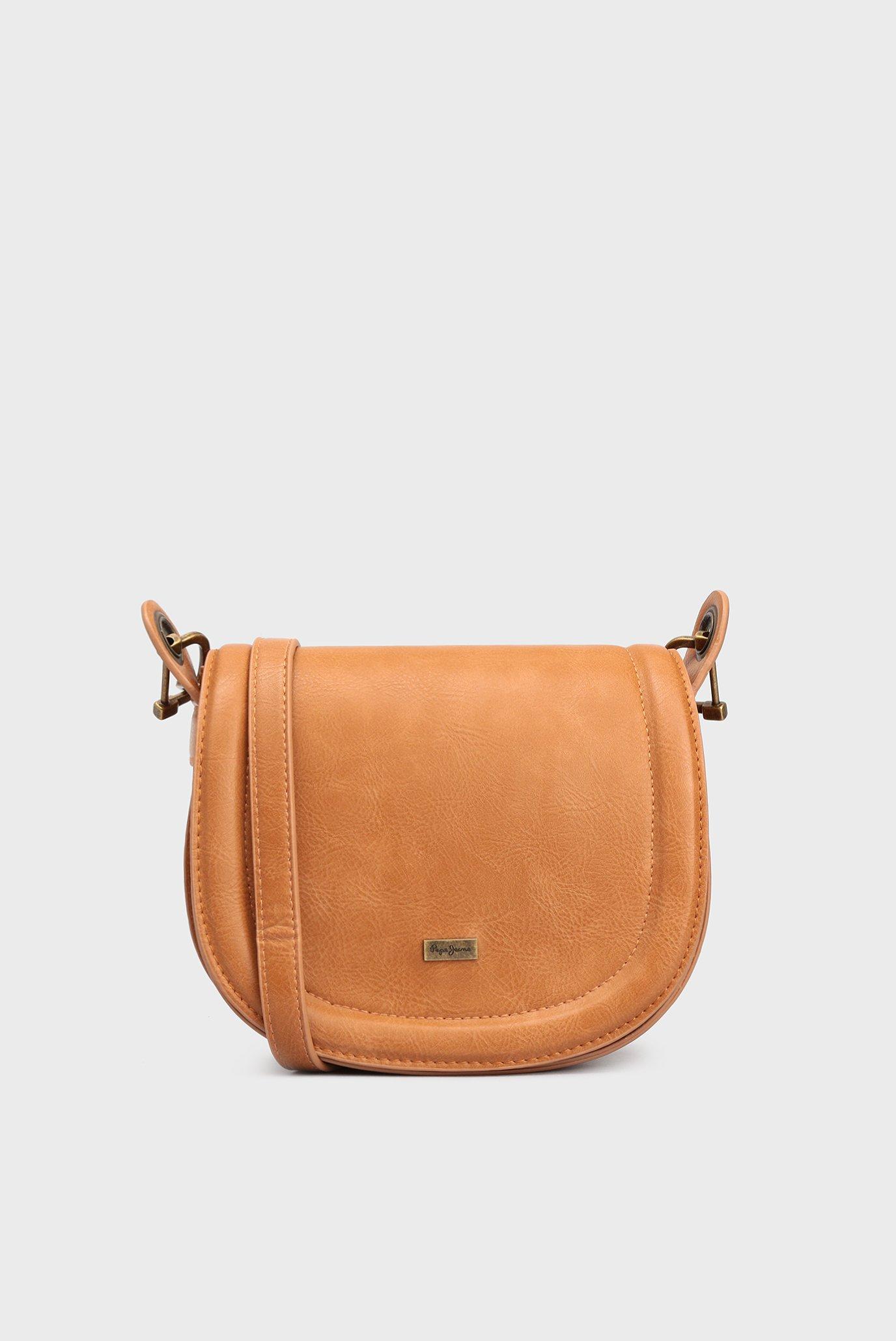 c0e0f016a79c Купить Женская рыжая сумка через плечо Pepe Jeans Pepe Jeans PL030807 – Киев,  Украина. Цены в интернет ...