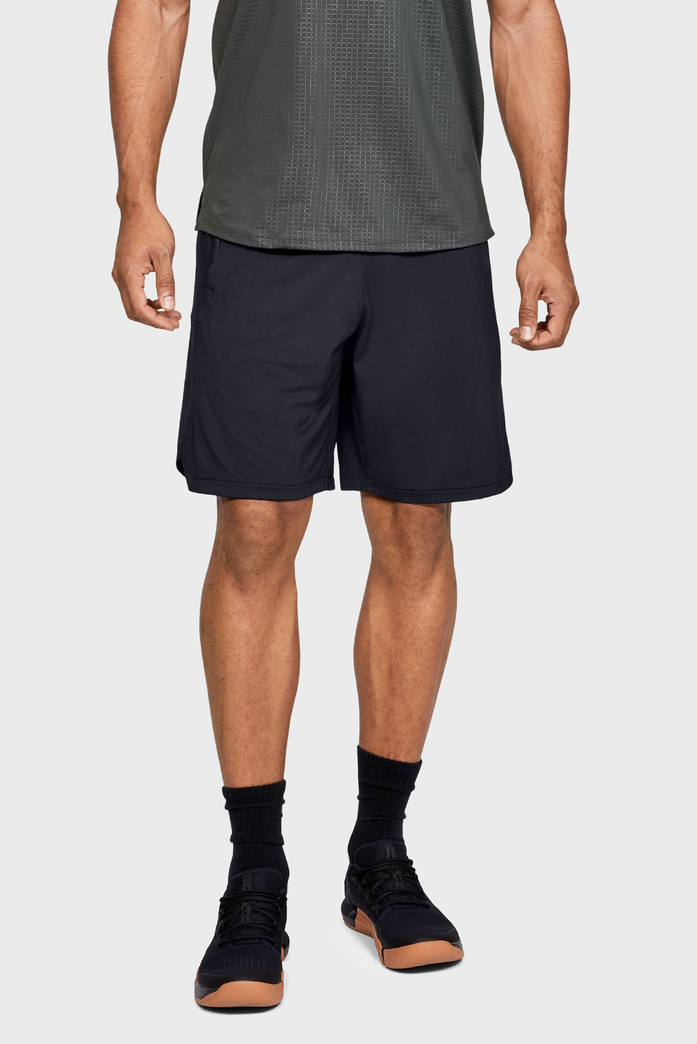 Мужские черные шорты MK1 Short Emboss Under Armour