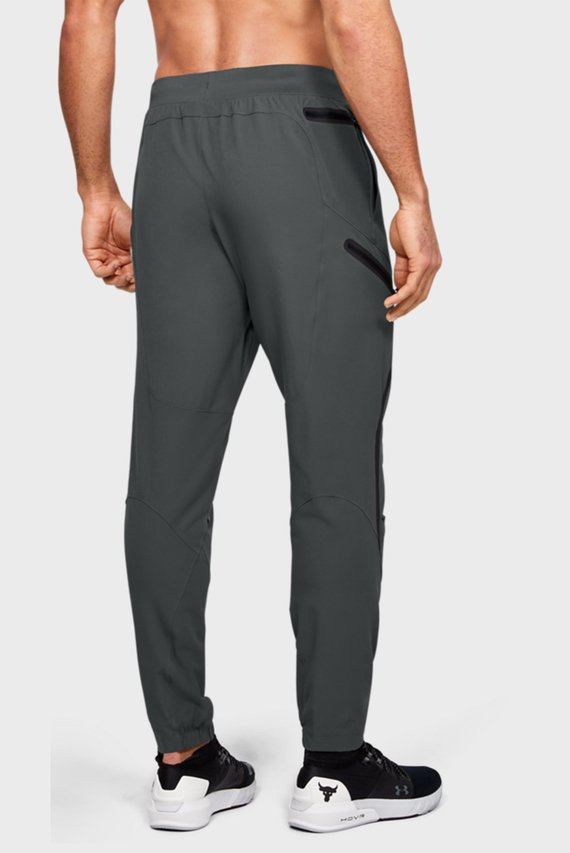 Мужские серые спортивные брюки Project Rock Flex Woven Pant