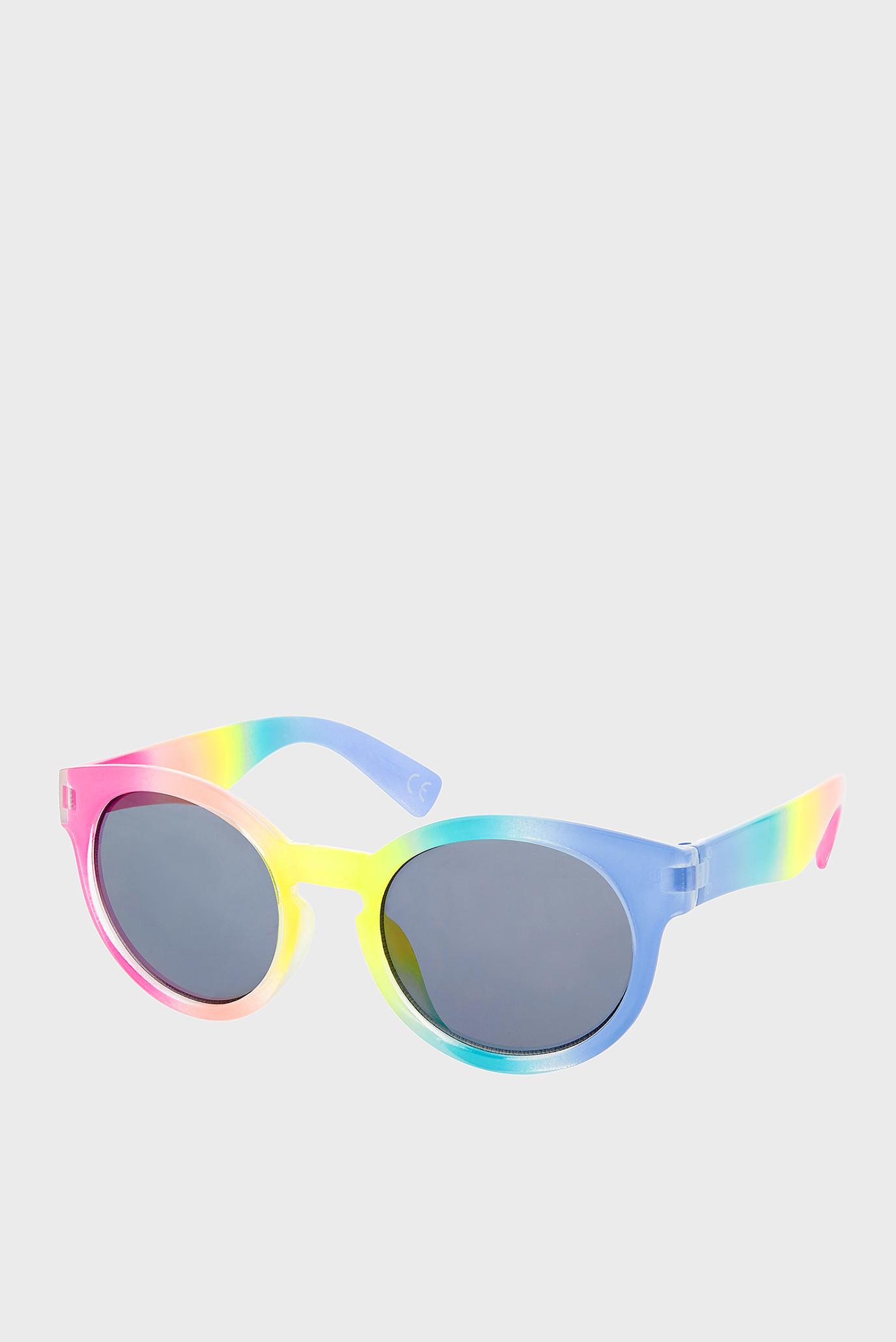 Рожеві сонцезахисні окуляри OMBRE PREPPY SUNGLAS 1