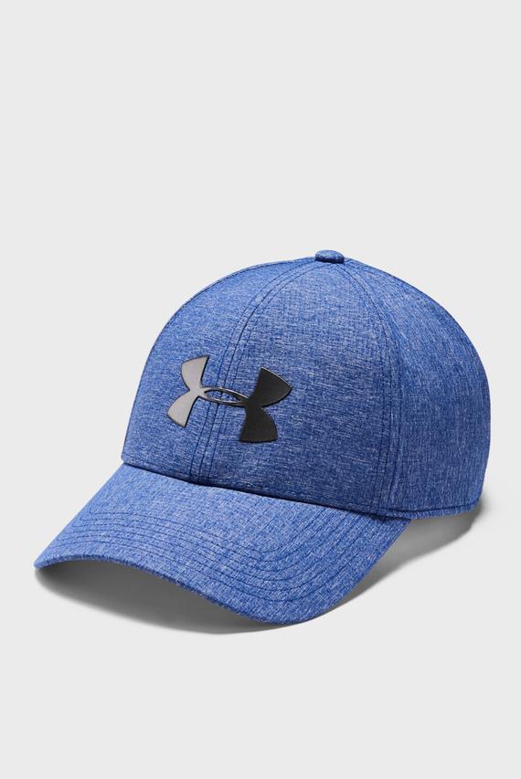 Мужская синяя кепка UA Adjustable Airvent Cool Cap-BLU