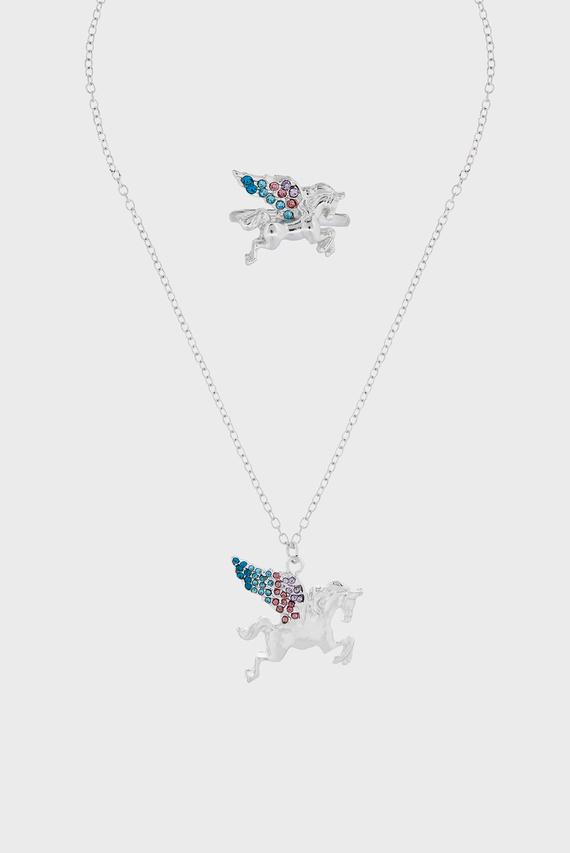 Набор детских украшений Eclipse Unicorn (кольцо, подвеска)
