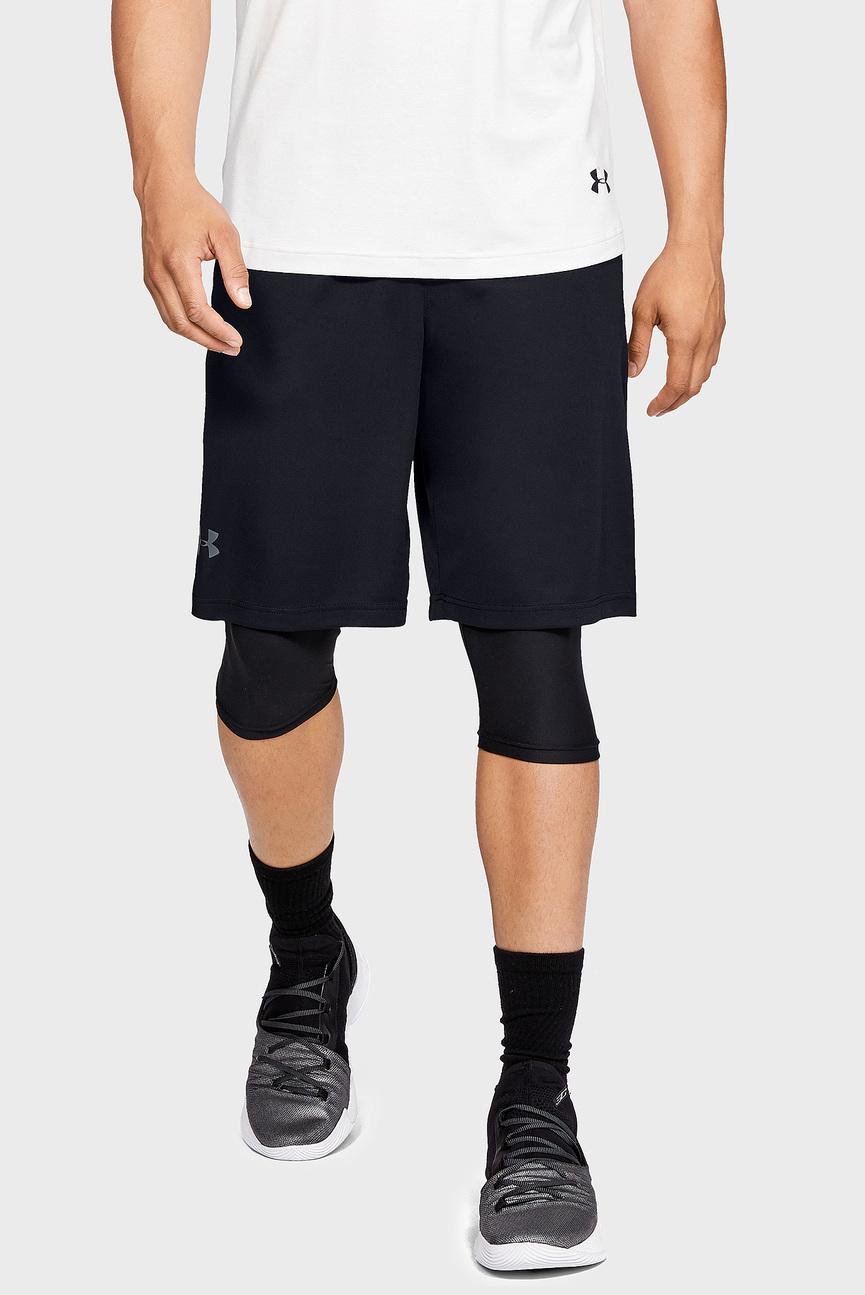 Мужские черные шорты UA BTL 10in