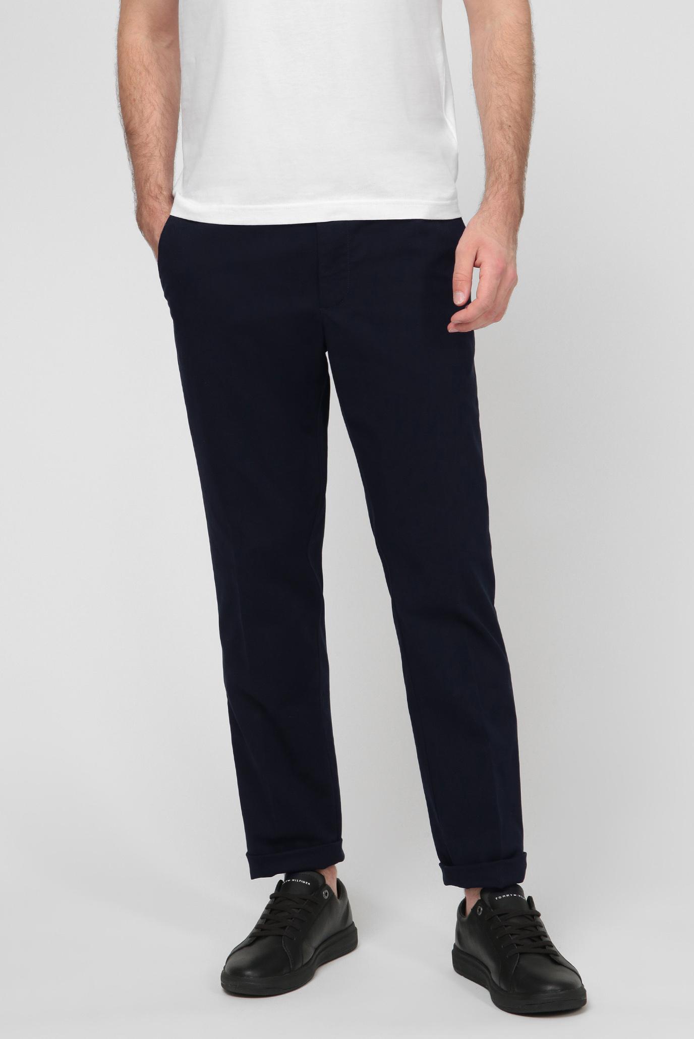 Чоловічі темно-сині брюки 1