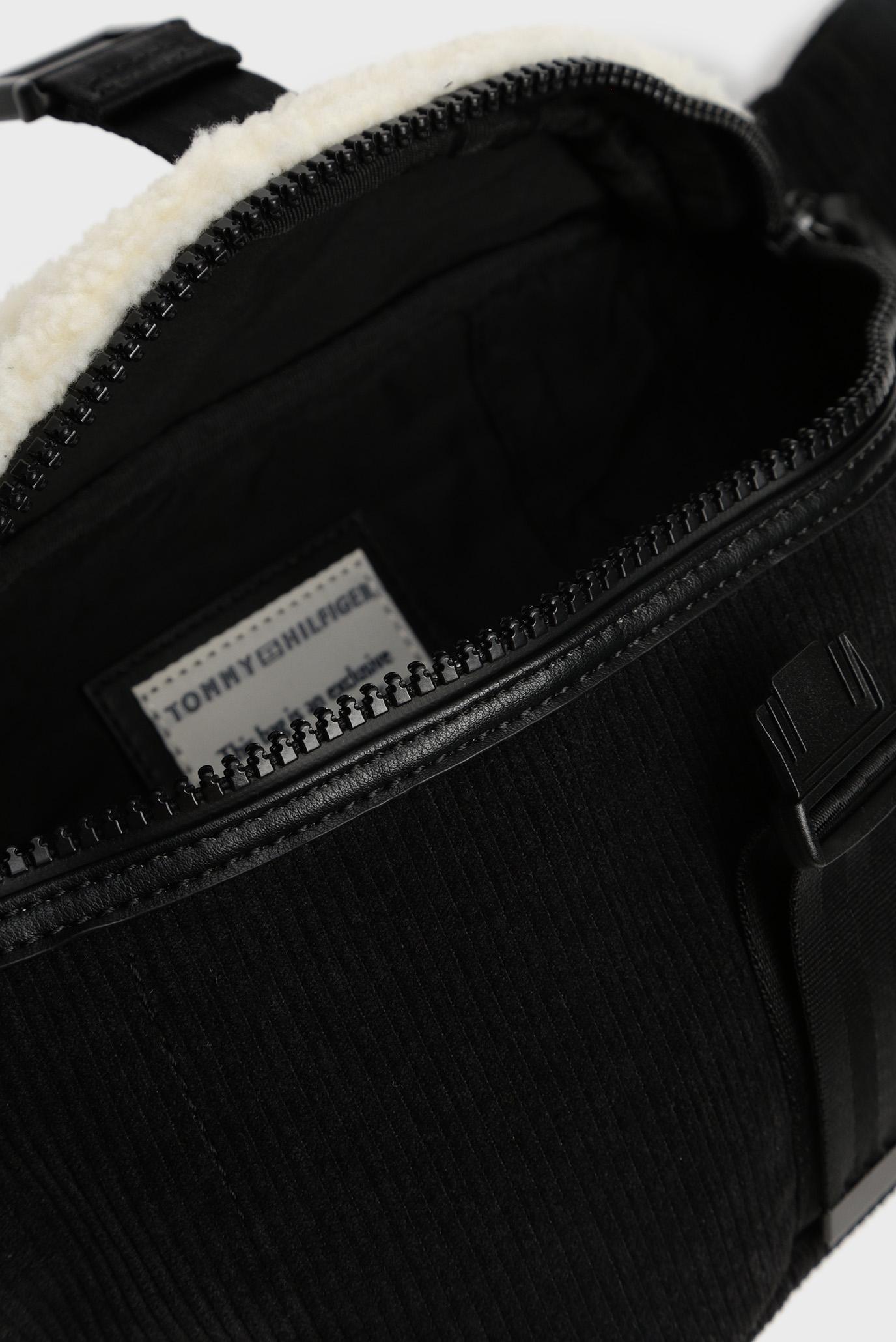 Мужская черная вельветовая поясная сумка ALL TERRAIN Tommy Hilfiger