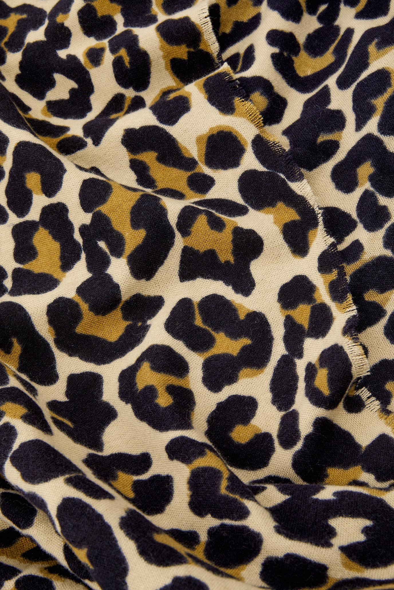 Женский коричневый шарф RETRO LEOPARD SOFT B Accessorize