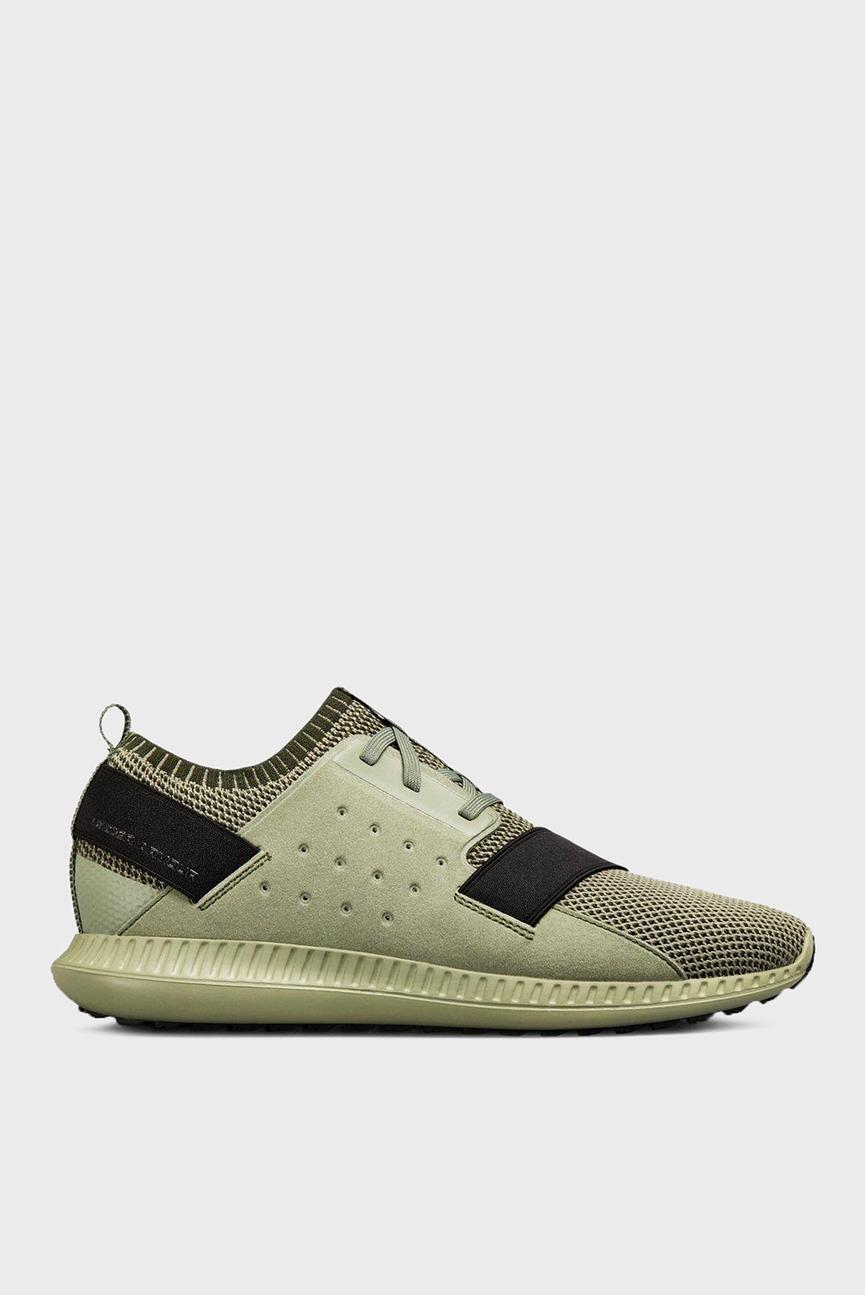 Мужские зеленые кроссовки UA Threadborne Shift HTHRD