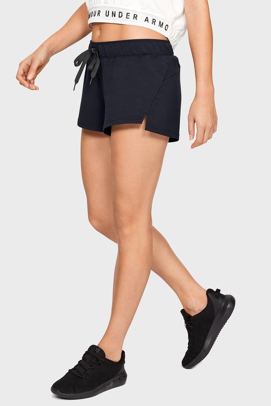Женские черные шорты Featherweight Fleece