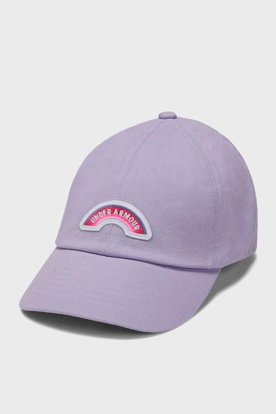 Детская фиолетовая кепка Girls Patch Armour Cap