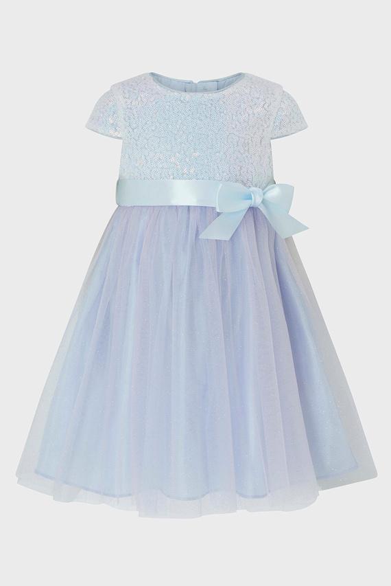 Детское голубое платье BABY ELSIE DRESS