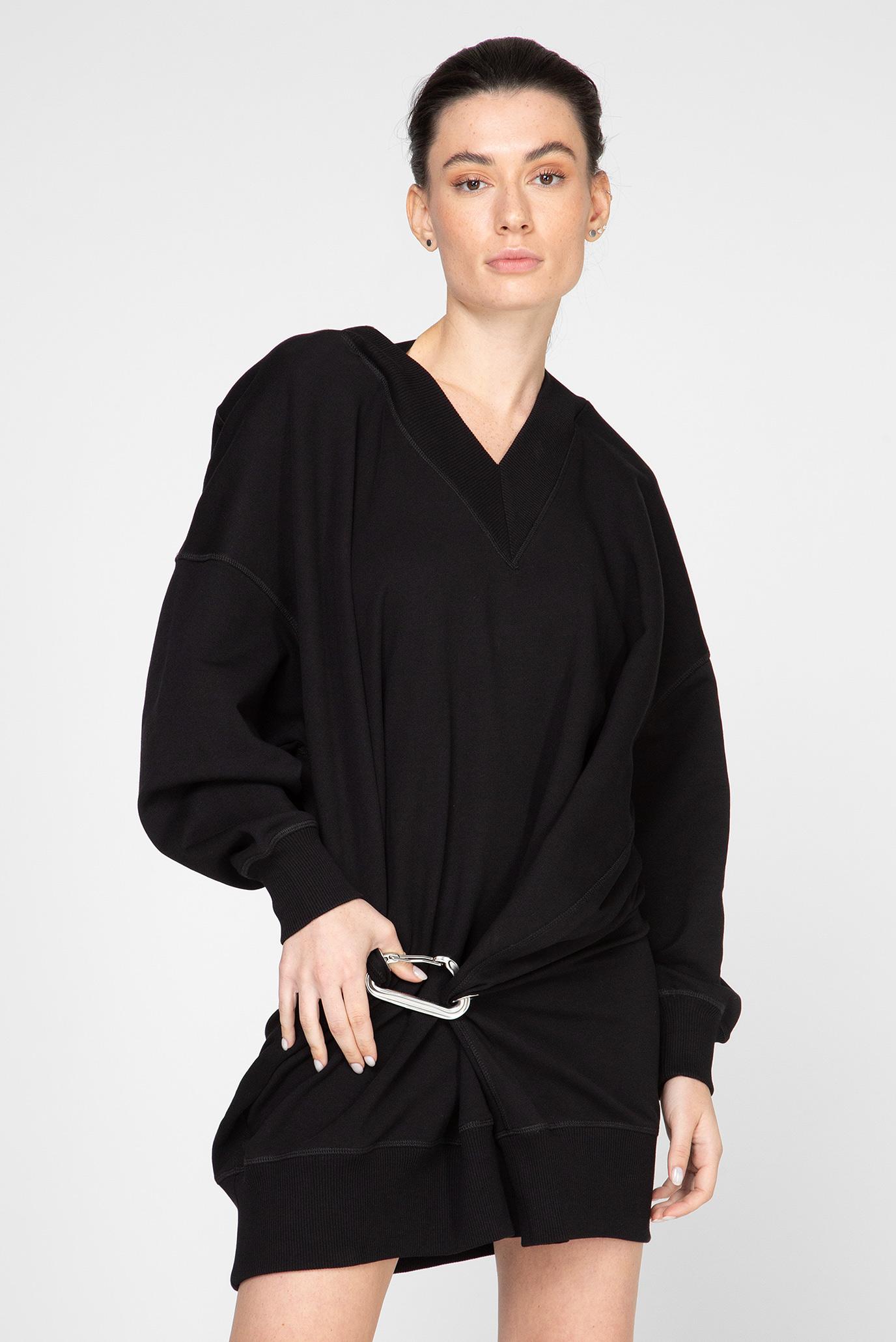Женское черное платье D-KESAR-A 1