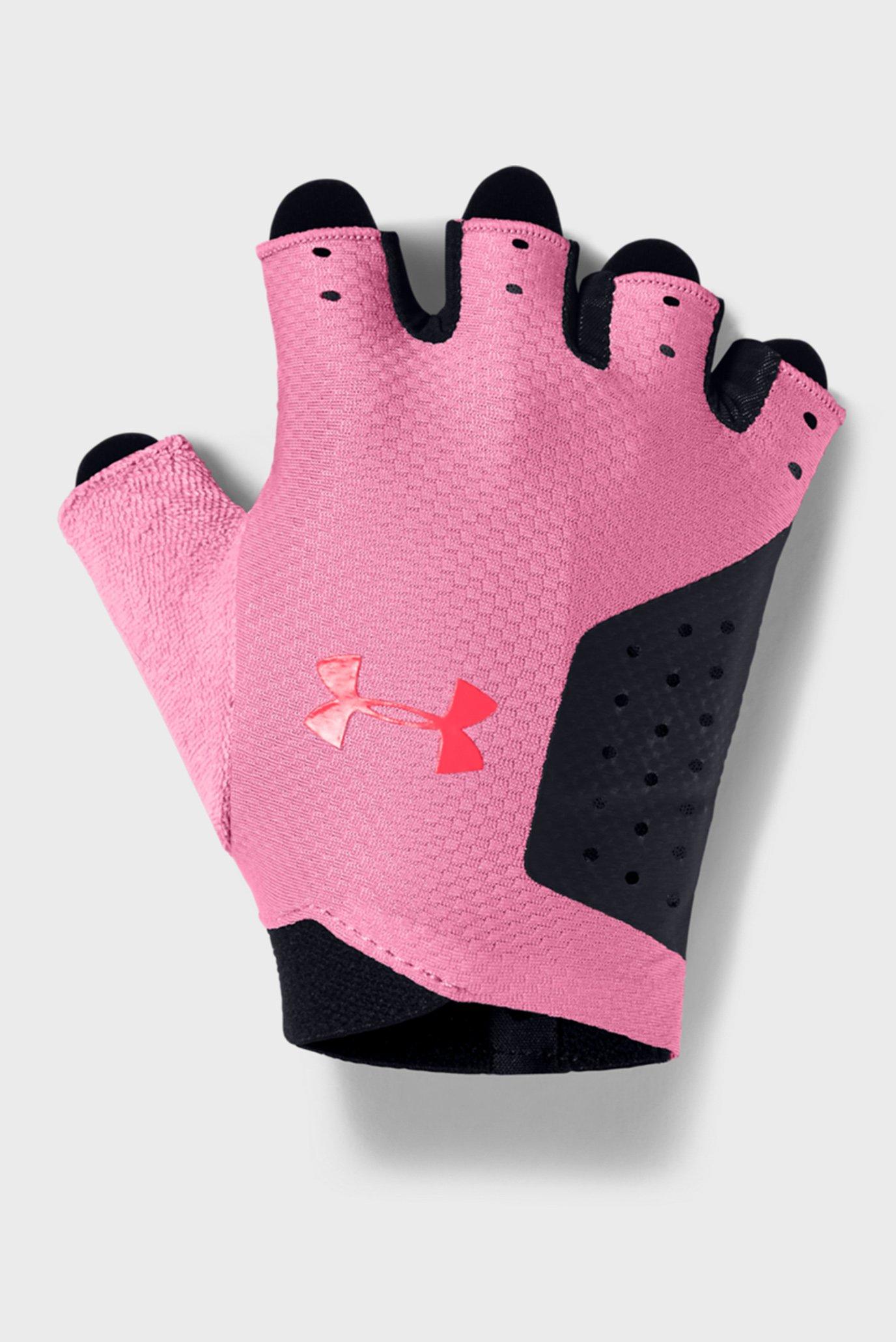 Женские черные перчатки UA Women's Training Glove-BLK Under Armour