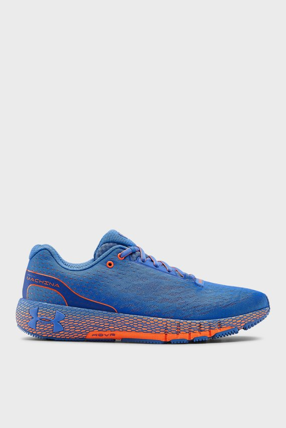 Мужские синие кроссовки UA HOVR Machina
