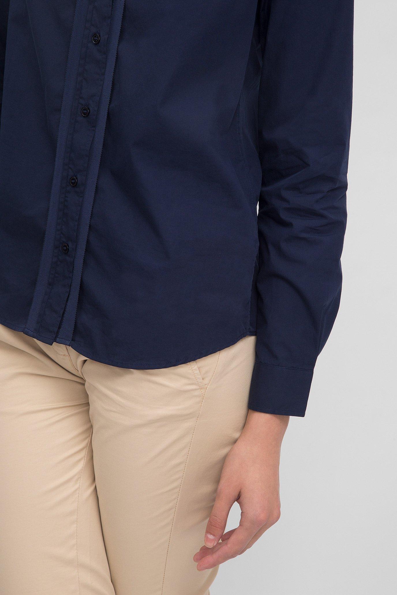 Купить Женская синяя рубашка Gant Gant 432572 – Киев, Украина. Цены в интернет магазине MD Fashion