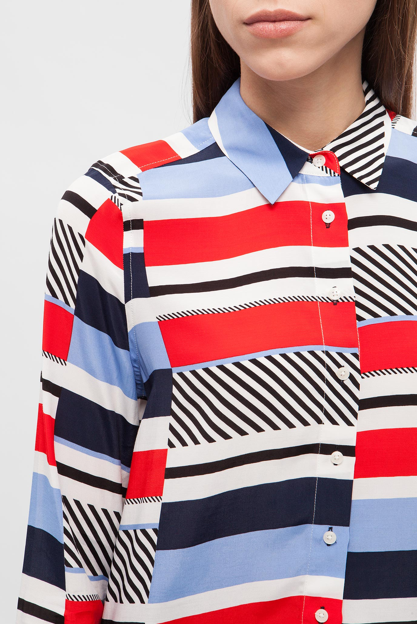 Купить Женская блуза с принтом Tommy Hilfiger Tommy Hilfiger WW0WW21509 – Киев, Украина. Цены в интернет магазине MD Fashion