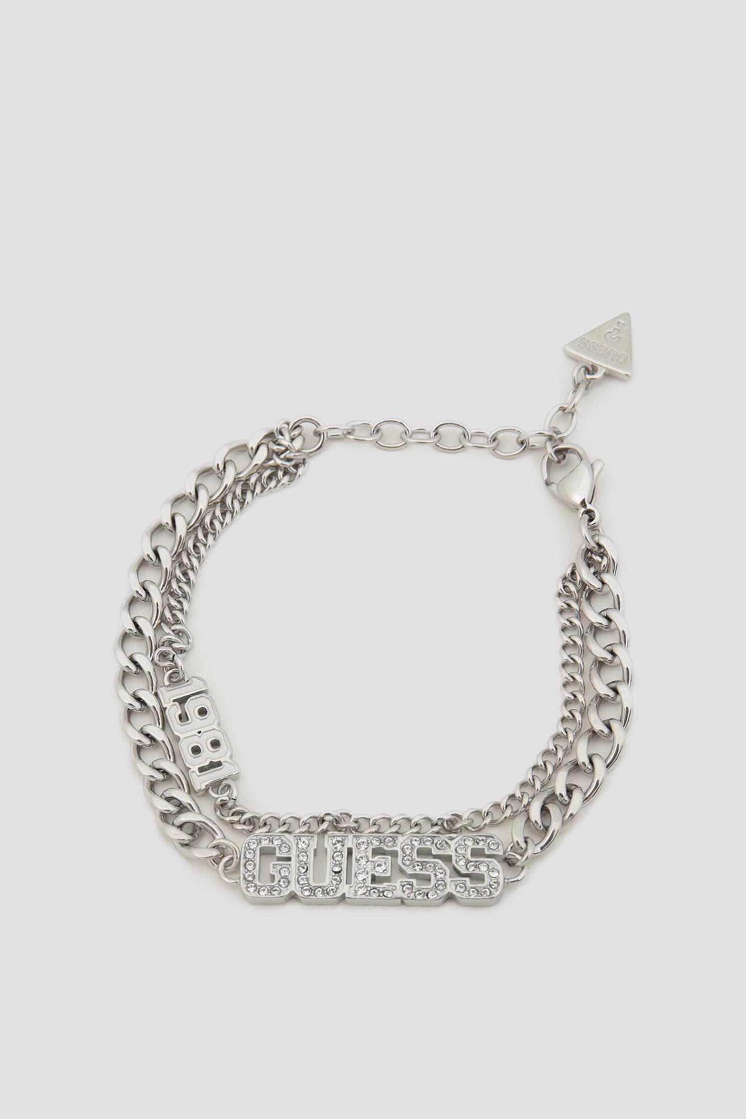 Жіночий сріблястий браслет 1