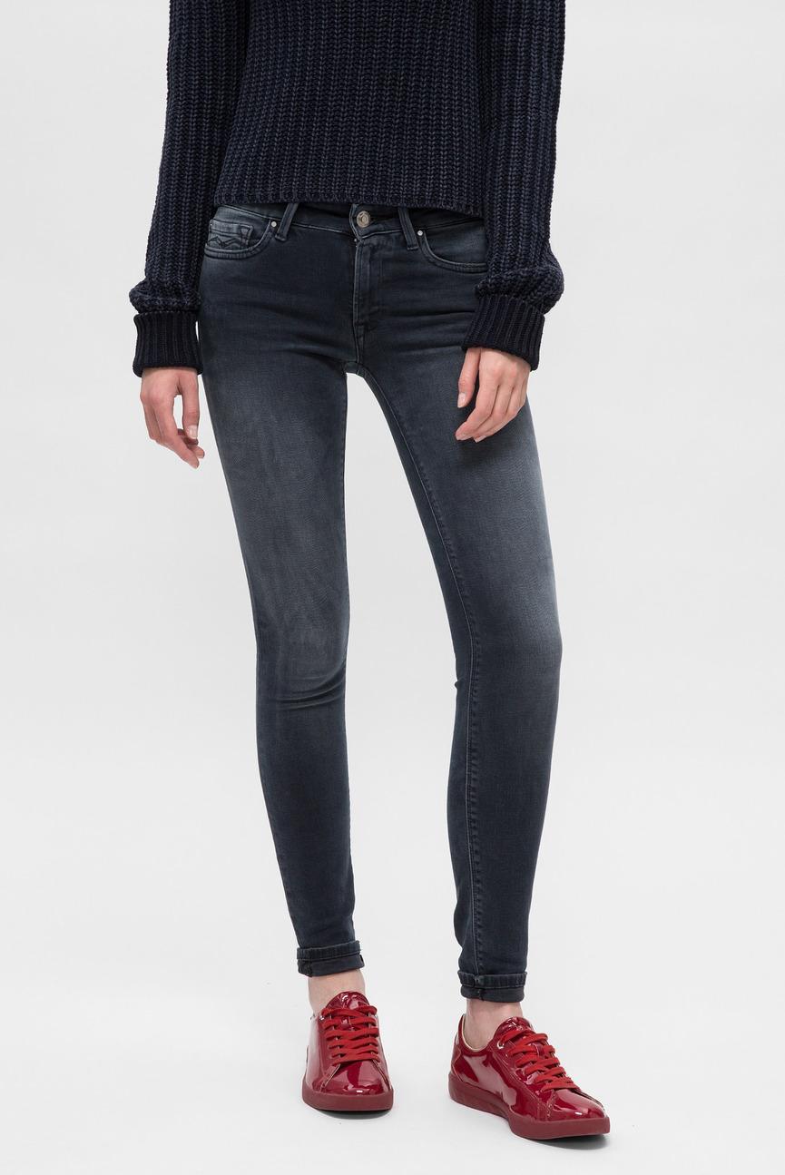 Женские серые джинсы LUZ