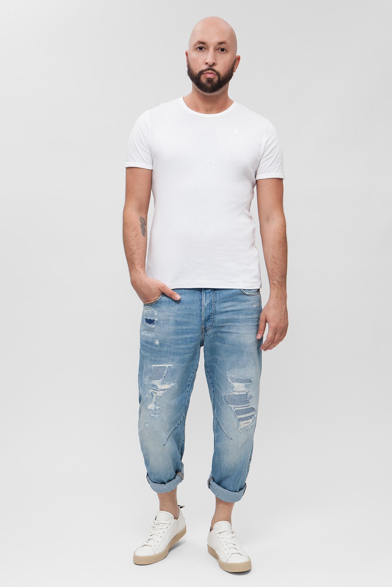 Купить Мужские голубые джинсы Arc 3D Relaxed Tapered G-Star RAW G-Star RAW D09132,9299 – Киев, Украина. Цены в интернет магазине MD Fashion