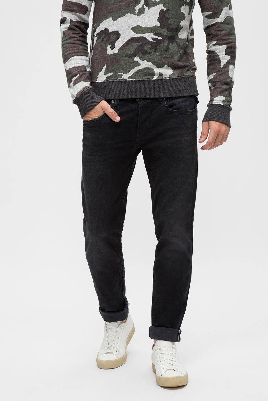 Мужские черные джинсы RONAS