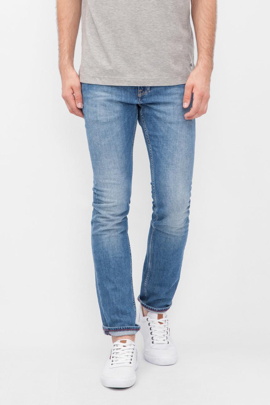 Мужские синие джинсы RU-DENTON STR BARTOW BLUE