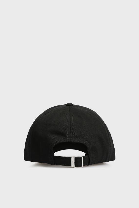 Мужская черная кепка с вышивкой