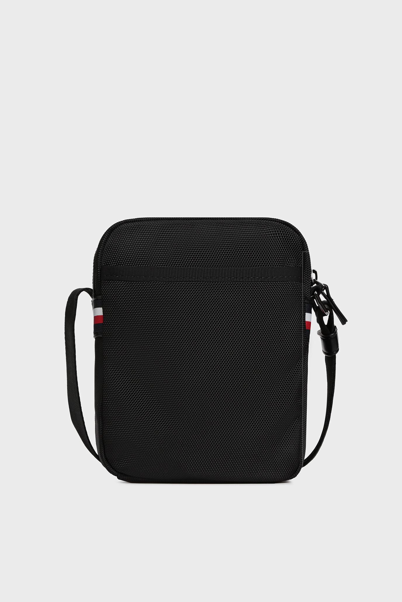 Мужская черная сумка через плечо ELEVATED NYLON MINI Tommy Hilfiger