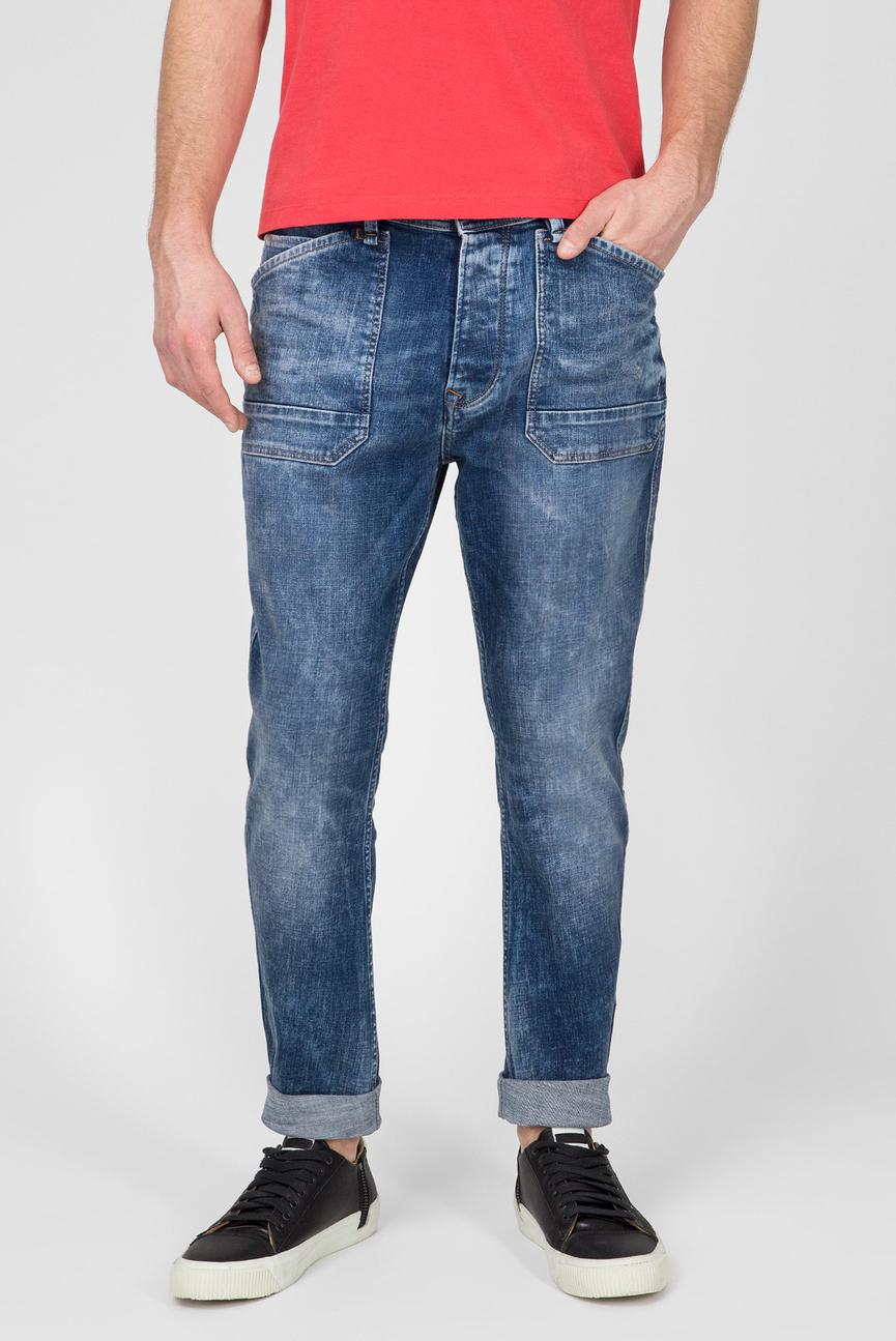 Мужские синие джинсы Newton