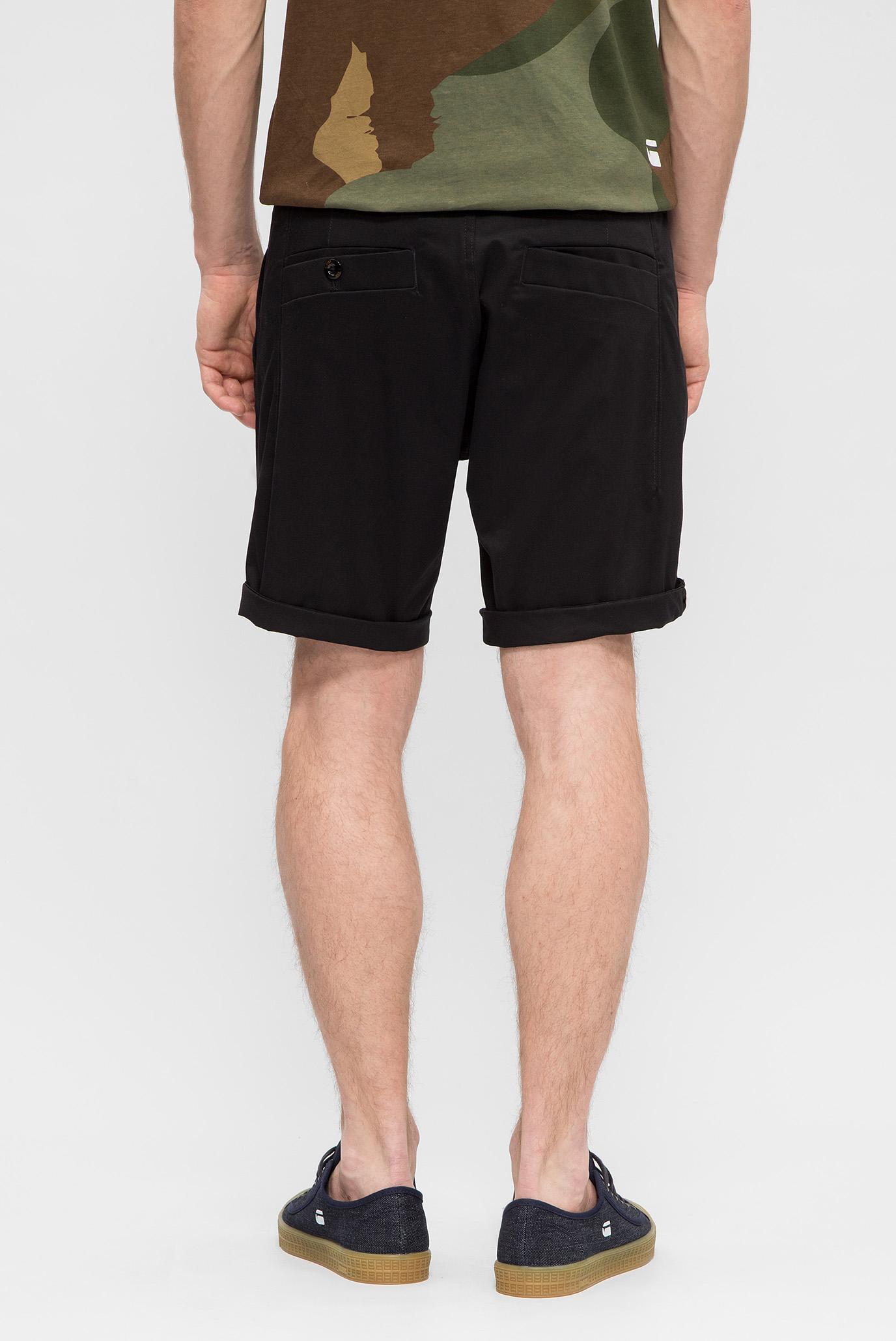 Мужские черные шорты G-Star RAW