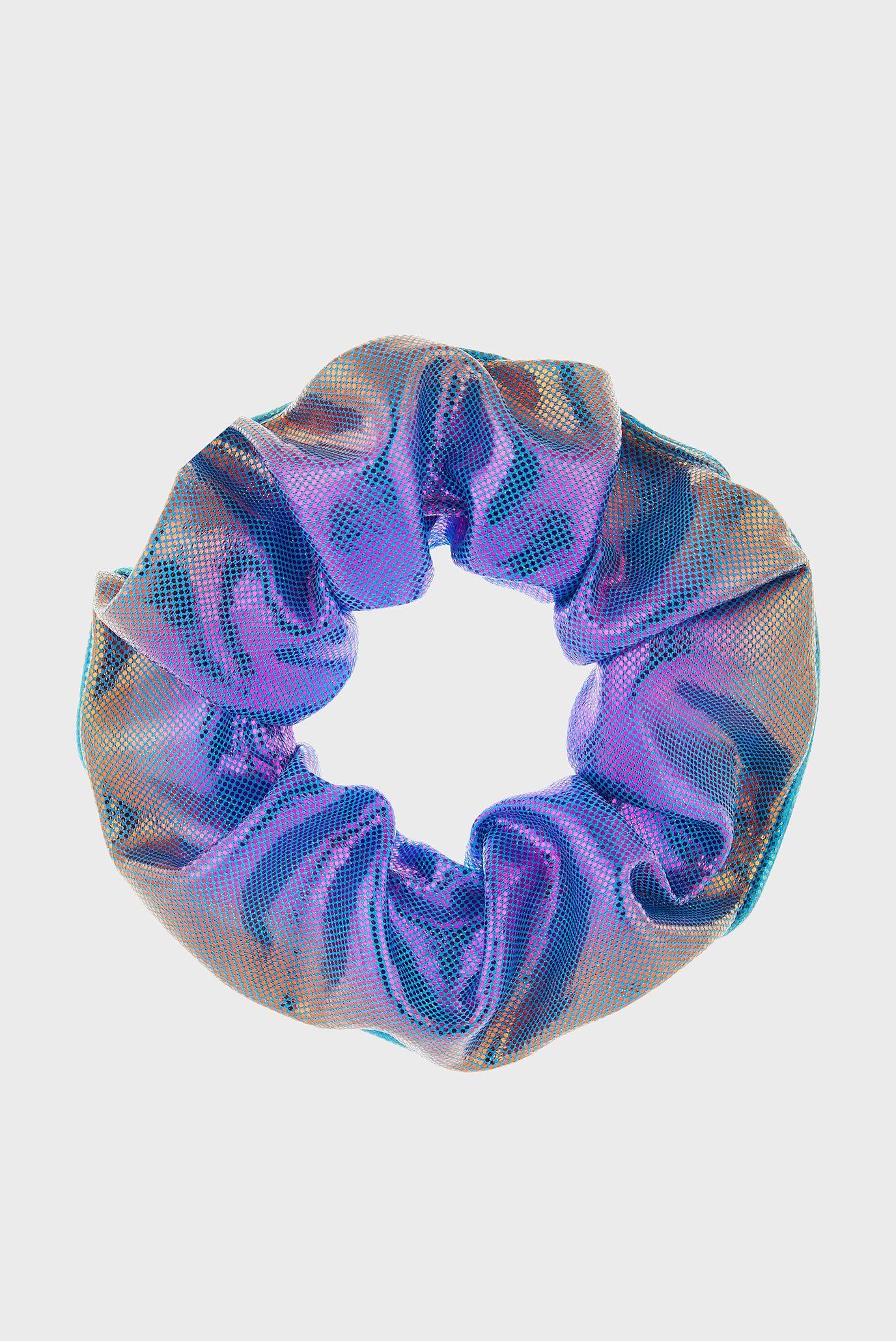 Детская резинка для волос METALLIC SCRUNCHIE Accessorize