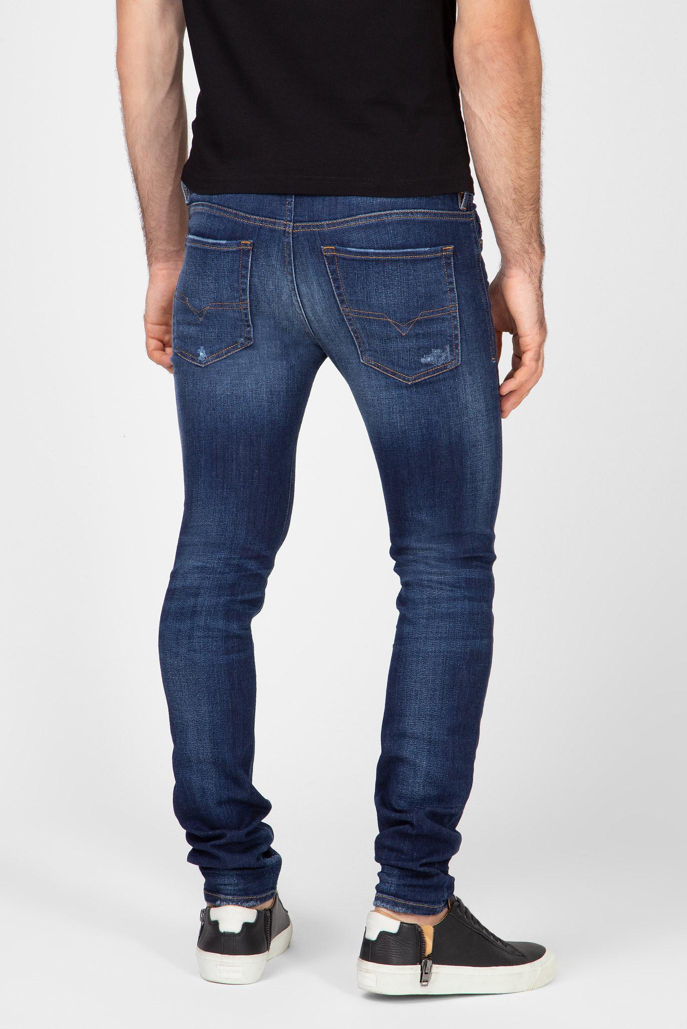 Купить Мужские синие джинсы SLEENKER-X Diesel Diesel 00SWJF 084AJ – Киев, Украина. Цены в интернет магазине MD Fashion