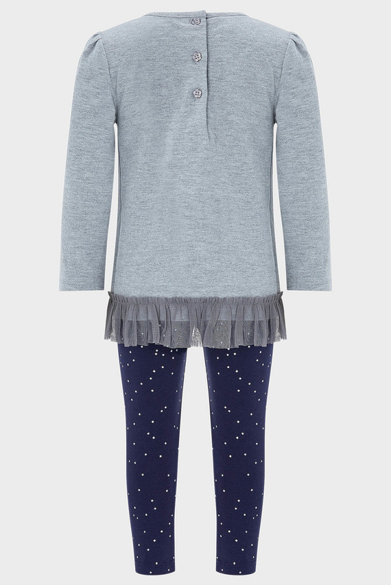 Набор детской одежды (лонгслив и леггинсы)