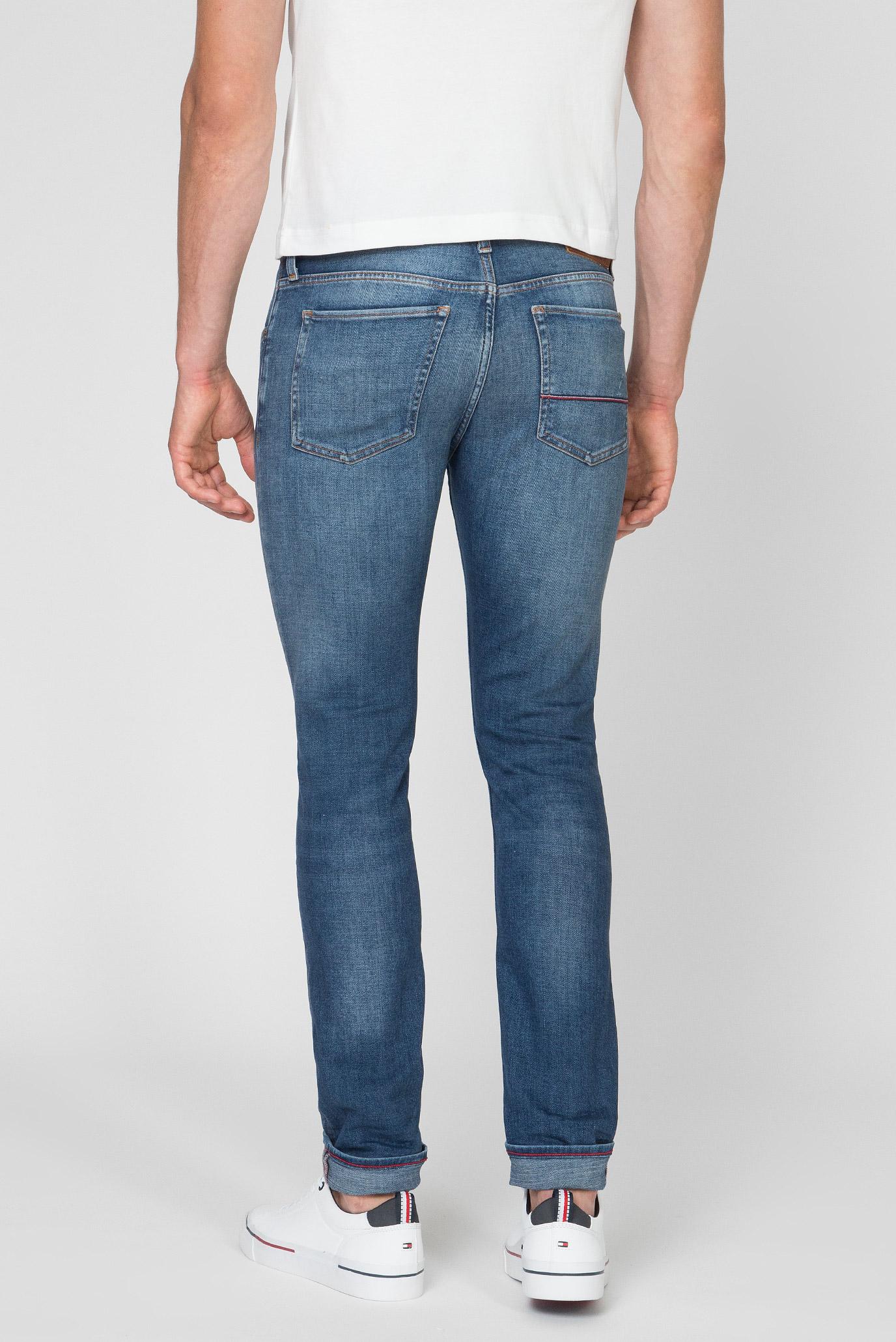Мужские синие джинсы XTR SLIM LAYTON PSTR PAVO BLUE Tommy Hilfiger