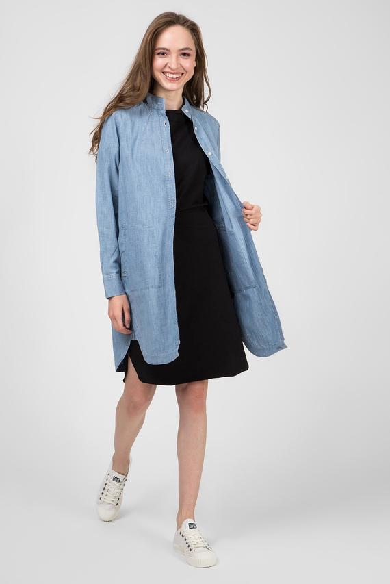 Женское голубое джинсовое платье Milary shirt