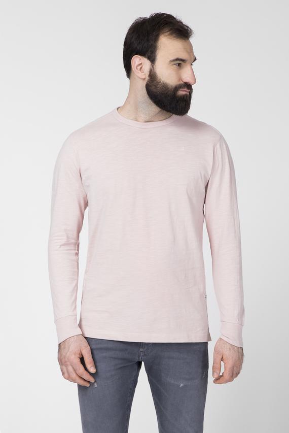 Мужской розовый лонгслив Korpaz