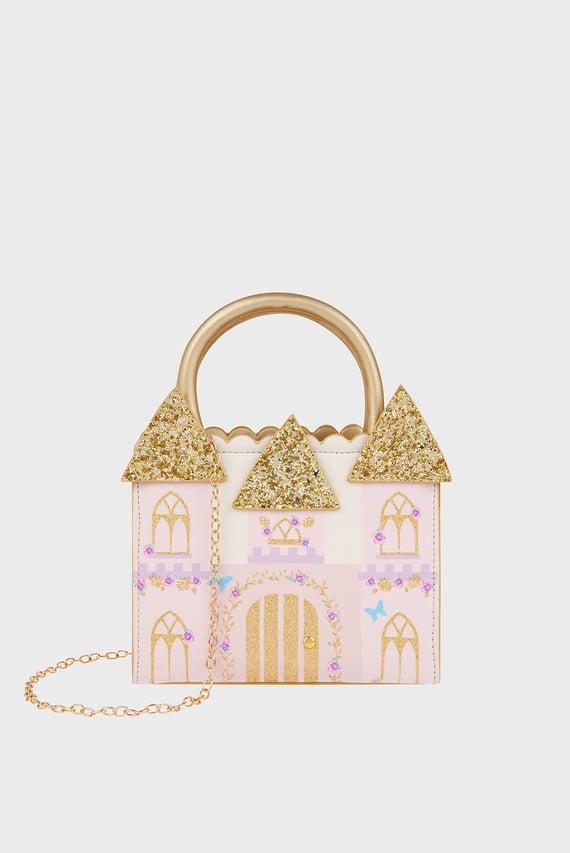 Детская розовая сумка Magical Manor Castle