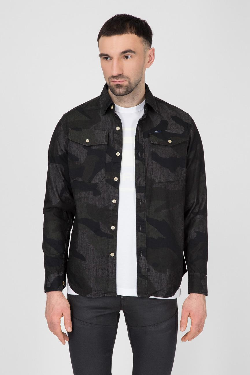 Мужская камуфляжная рубашка Bristum