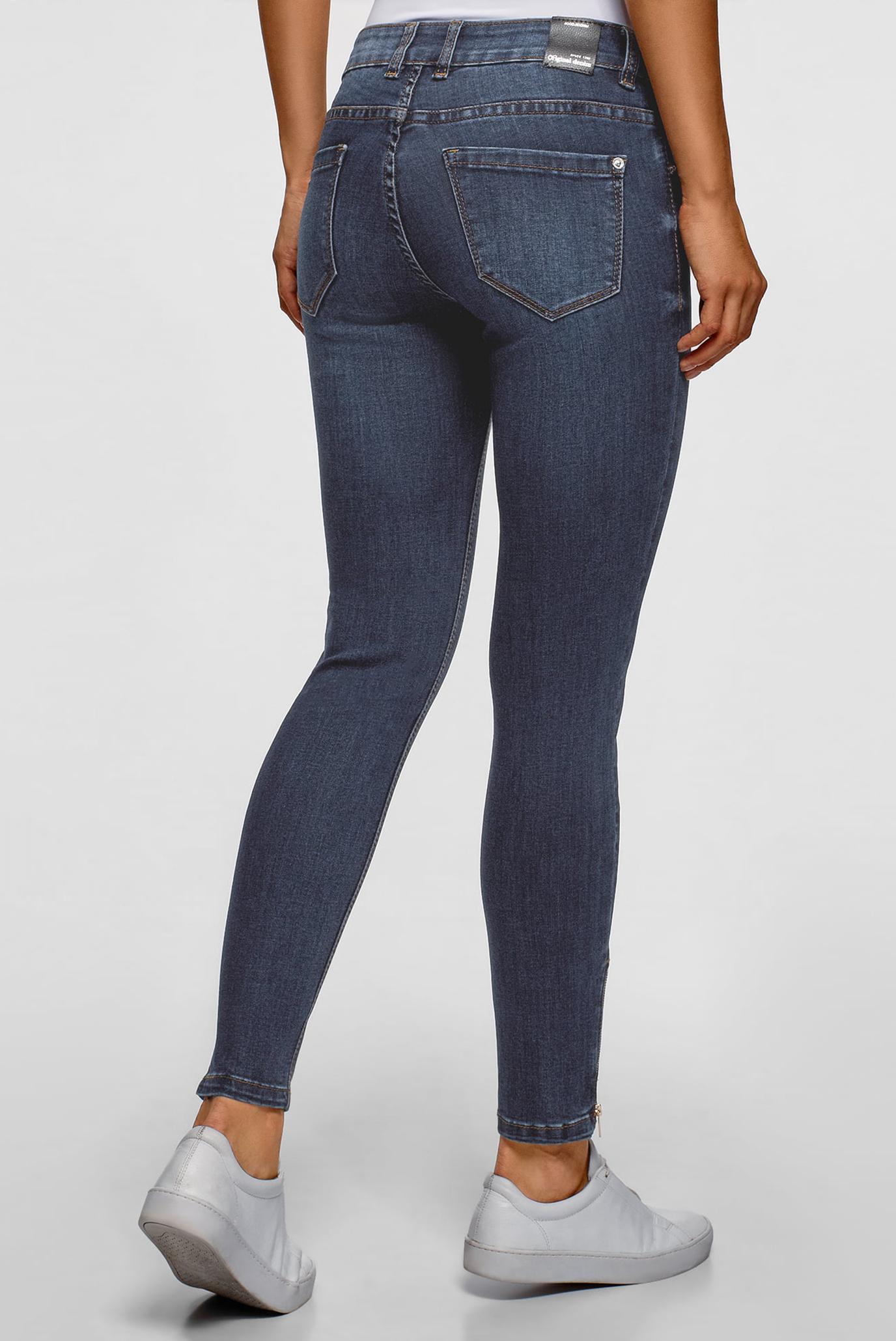 Купить Женские синие джинсы Skinny Oodji Oodji 12106150/47546/7900W – Киев, Украина. Цены в интернет магазине MD Fashion