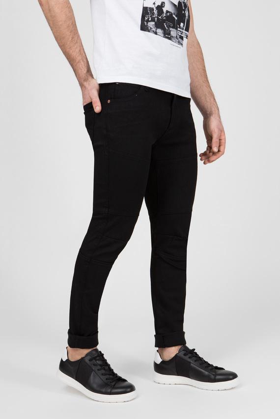 Мужские черные джинсы HYPERFLEX RHUSH